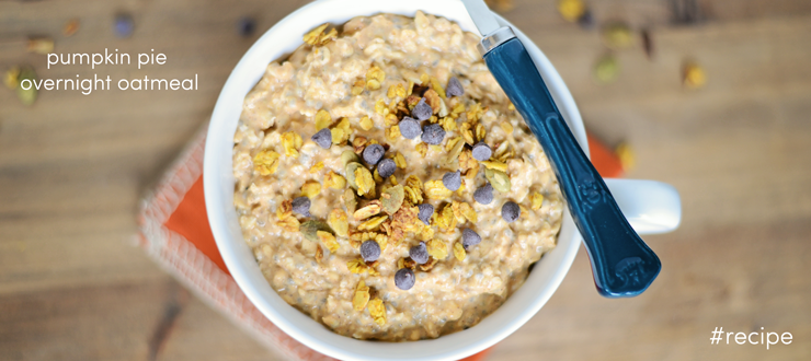 Healthy Recipe: Pumpkin Pie Overnight Oatmeal
